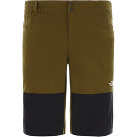 The North Face Climb Shorts Men, fir green/tnf black